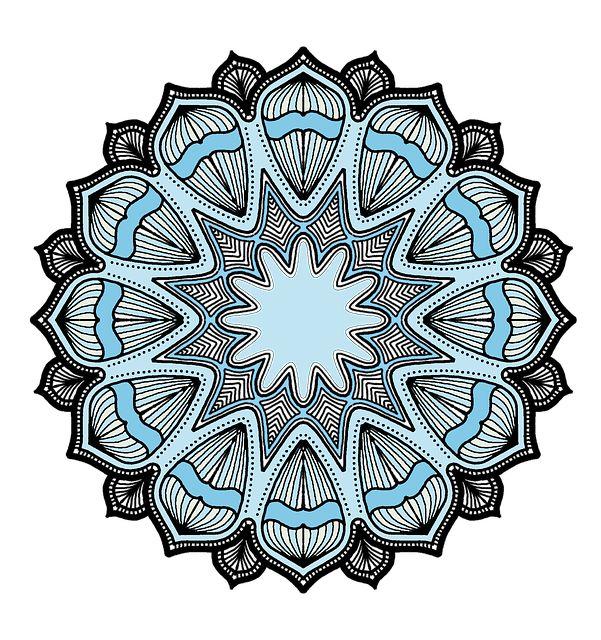 Free image on pixabay mandala lines pattern shape
