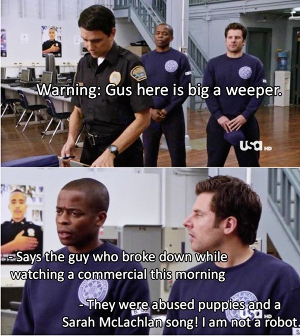 haha! i'm hooked on this show now! #psych