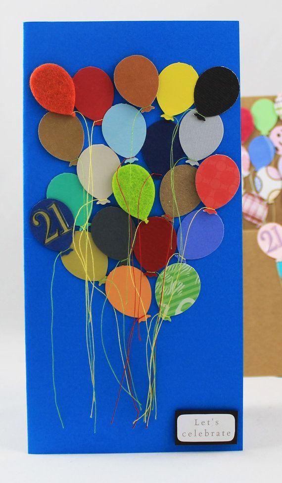 21st Birthday Card Making Ideas Part - 36: Handmade 21st Birthday Card Male By CardsMadebyAnna On Etsy, U20ac4.00