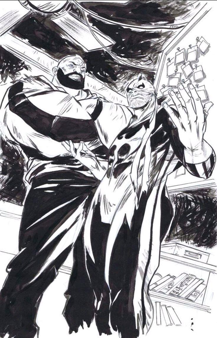 Powerman and Iron Fist by @sanfordgreene