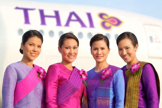 Uniforme Thai airways