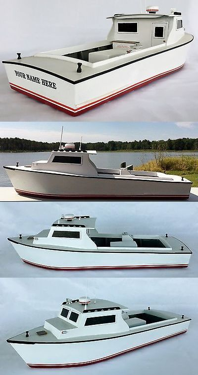 Wooden 152930: Chesapeake Bay Workboat Model, Fishing And Crabbing Boat, Waterline Model -> BUY IT NOW ONLY: $175 on eBay!