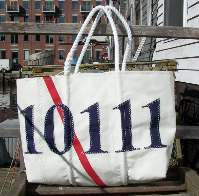 bags made from recycled sails at http://www.seabags.com made in usa!