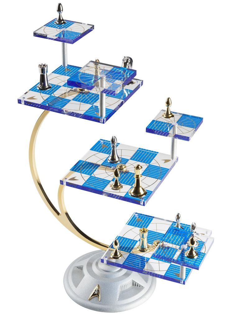 Star Trek Tridimensional Chess Set. Got one of these, the rules are hideous!