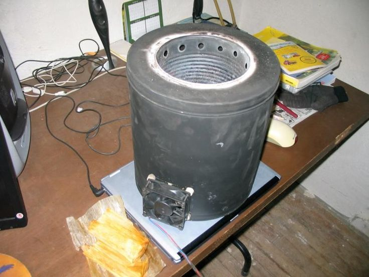 how to build a wood gasifier stove