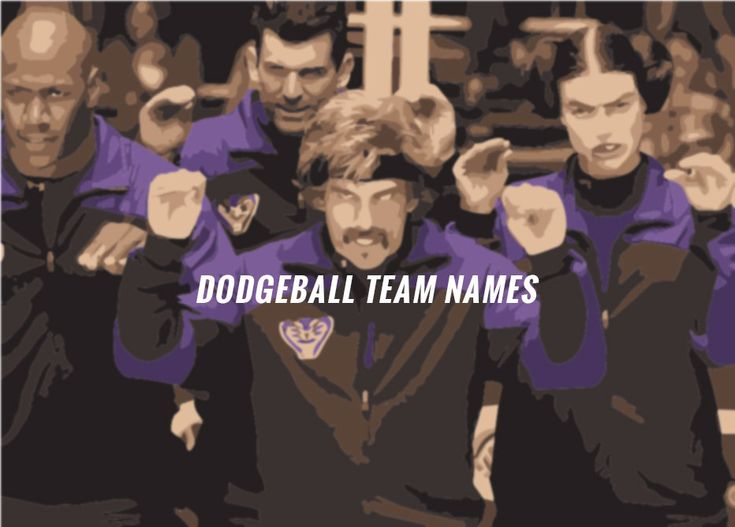 The Top 10 Funny Dodgeball Team Names