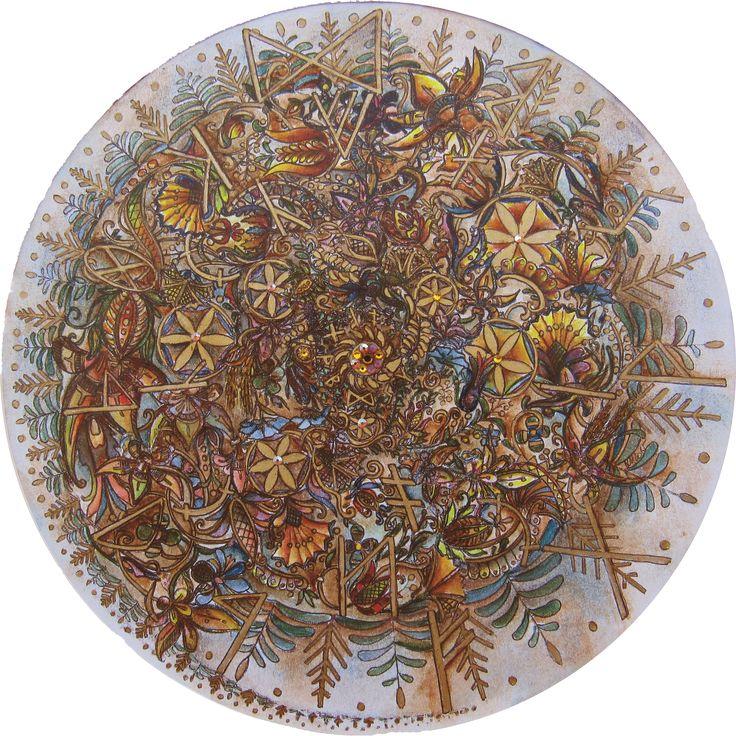 Mandala for Love and Peace, harmony in family Szeretet Mandala a családi harmoniáért