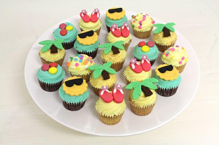 Beach Cupcakes by Sweet Bakery & Cakery, Wellington, NZ (www.sweetbakery.co.nz)