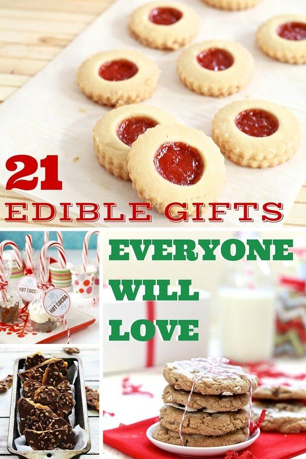 21 Edible Christmas Gifts Everyone Will Love Christmas
