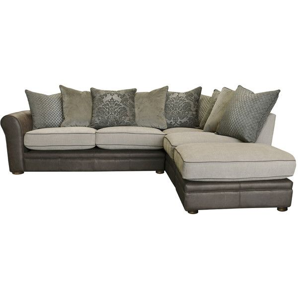 Leather Sectional Sofa Haworth Leather Corner Sofa CAD liked on Polyvore featuring home furniture