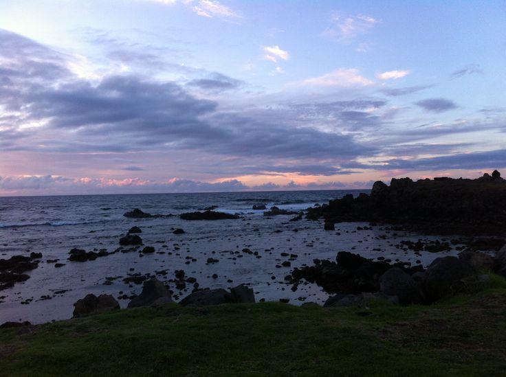 Amanece (Rapa Nui) Septiembre 18, 2014