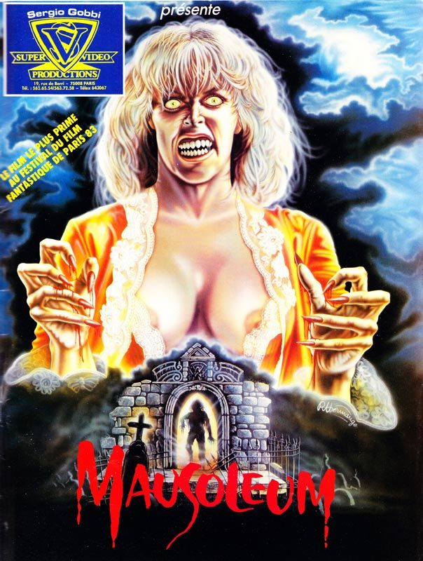 'Centuries of evil have just been awakened' Mausoleum is a 1983 American supernatural horror film directed by Michael Dugan from a screenplay by producers Robert Barich and Robert Mader…