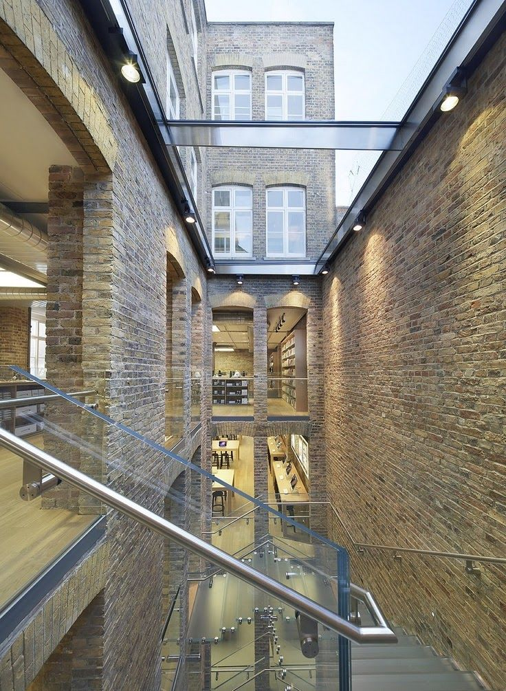 Apple Store, Covent Garden, London, Bohlin Cywinski Jackson Architects