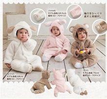 Arabacılarla kış çocuk erkek bebek ve kız sevimli ceket ceket kazak/çocuk giyim sıcak tutacak giysiler bebek tulum giyim(China (Mainland))