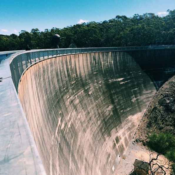 """Tell all your secrets to the """"Whispering Wall"""".sth Australia"""