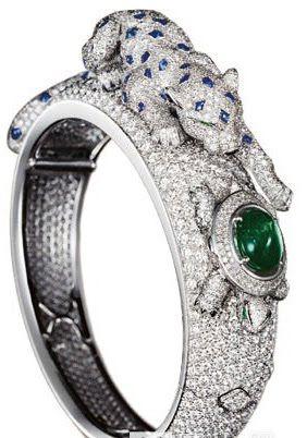 Cartier jeweled watch...Cheetah Series