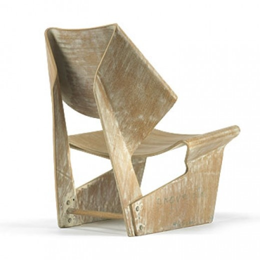 Grete Jalk, Prototype Laminated Chair for P. Jeppesens Mobelfabrik A/S, 1963.