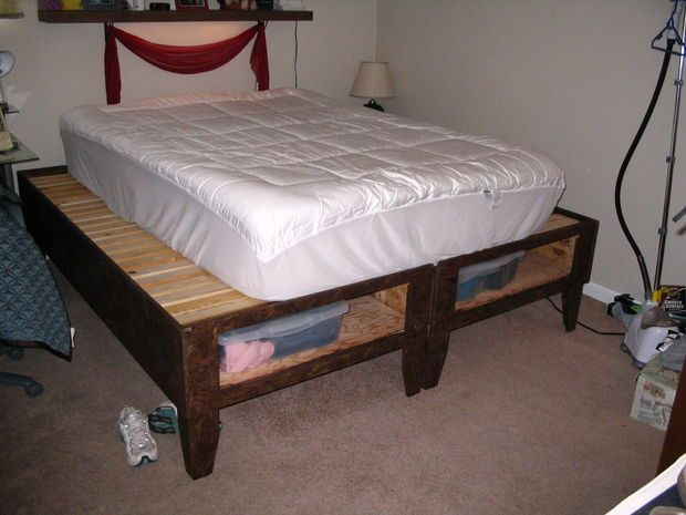 1000 images about crazy college bucket list on pinterest for Diy ottoman bed frame