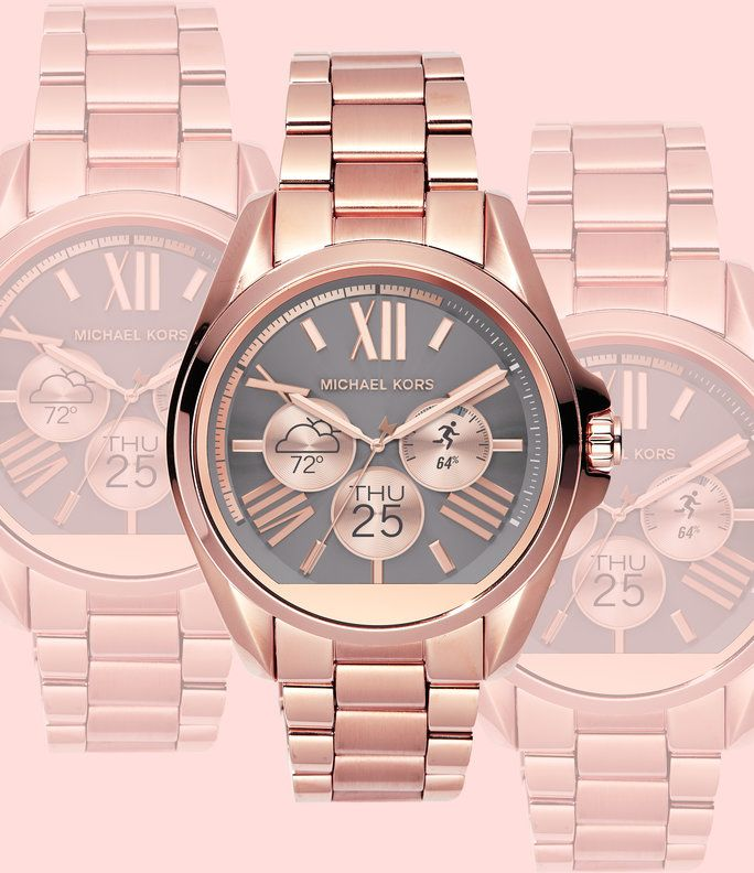 The Michael Kors Access Smartwatch May Just Be the Chicest Wearable We've Ever…
