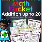 This Interactive Math Packet is FILLED with FUN and interactive ways to master math facts (addition) up to 20!  Each sheet will keep your students ...