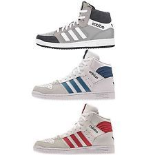 Adidas Originals Pro Play Schuhe Turnschuhe High-Top Sneaker Herren Echtleder