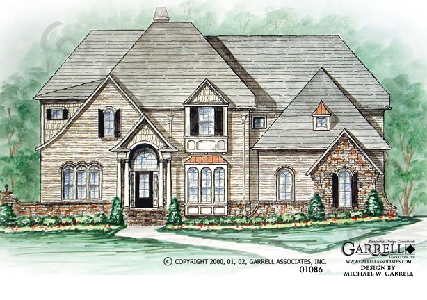 92 best images about house plans 4 500 5 000 s f on for French tudor house plans