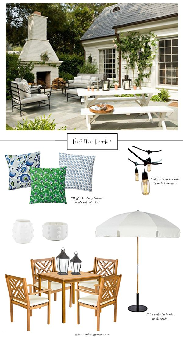 17 Best Ideas About Table Umbrella On Pinterest Outdoor