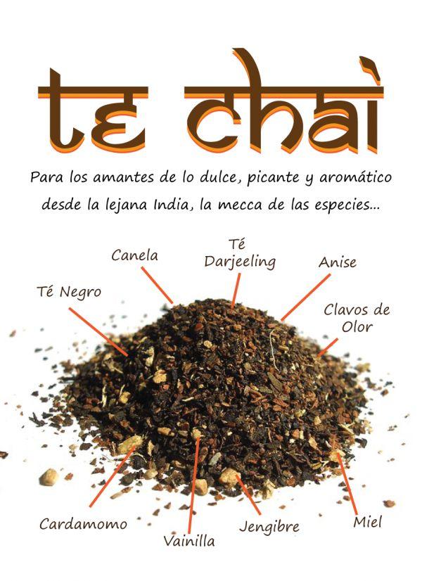 Té Chai,oi hablar mucho de el y no sabia exactamente que es, aquí despeje mis dudas.