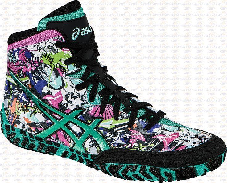 Asics Aggressor 2 LE Graffiti Wrestling Shoes