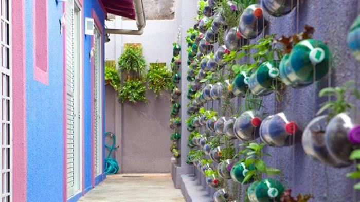 Cara Membuat Hiasan Dinding Dari Bahan Bekas 2020 Di 2020 Taman