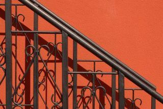 Best How To Paint Wrought Iron Railings Metal Stair Railing 400 x 300