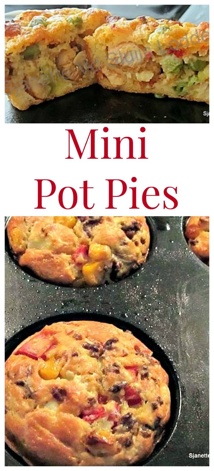 Mini Chicken Pot Pies With Bacon And Marjoram Recipes — Dishmaps
