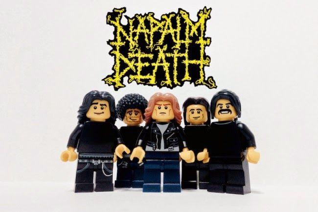 El desván del Freak: Napalm Death #Lego
