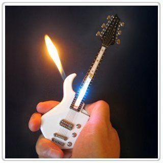 1x Mini White Guitar LED Light Refillable Cigar Cigarette Lighter 7inch by AmebaConcept, http://www.amazon.com/dp/B005BX265S/ref=cm_sw_r_pi_dp_G3.Crb0DQ4EQZ