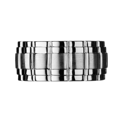 Links of London Venture Men's Silver Ring SR1924 from Beaverbrooks the Jewellers