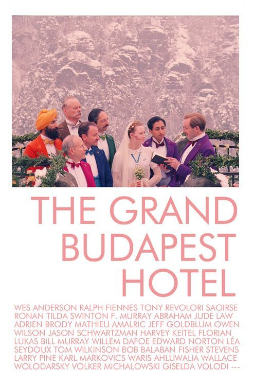 The Grand Budapest Hotel Poster.