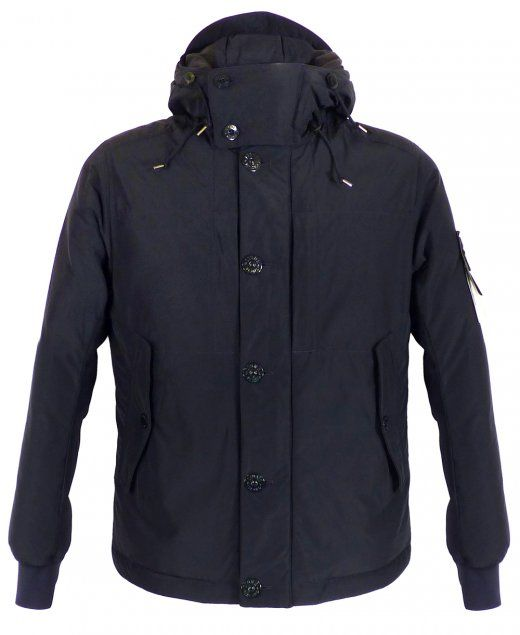 Stone Island Jacket Blue Micro Reps Down filled Peaked hood Two chest pockets and two side pockets Water and wind resistant Signature Stone Island badge Outer 52% Polyester / 48% Polyamide Padding 80% White Duck Down / 20% Feather £595