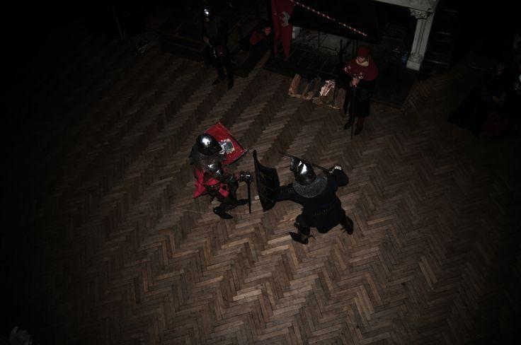 Pokaz walk rycerskich