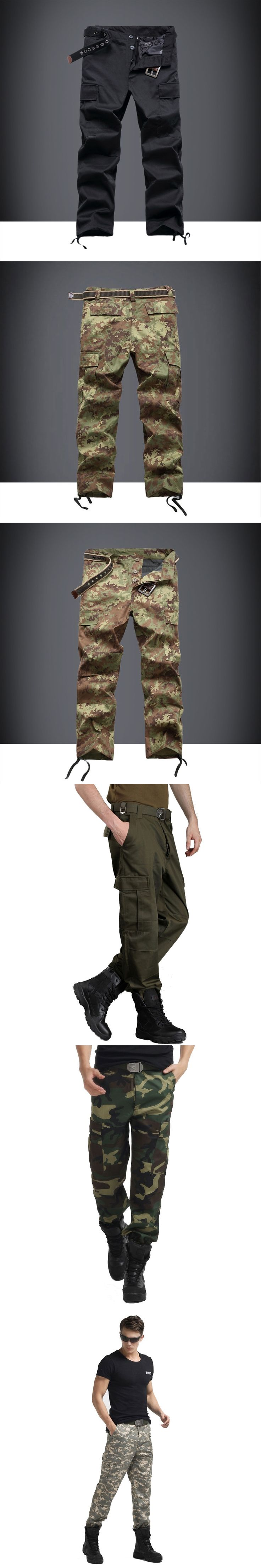 Military Tactical Pants Men Army Active SWAT Camo Cargo Pants Men Jogger Pantalon Homme Sweatpants Casual Cargo Trousers