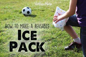 How to make a reusable ice pack