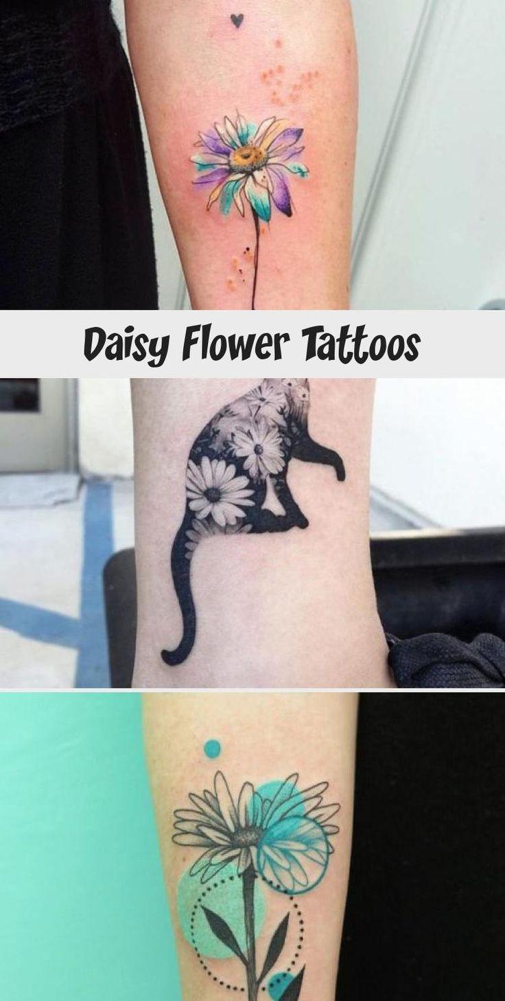 Daisy Flower Tattoos Daisy flower tattoos, Flower tattoo