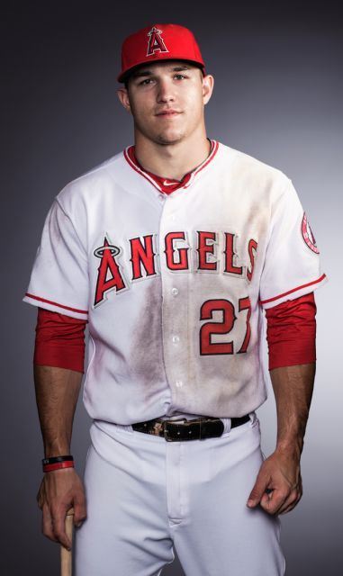 ESPN The Magazine, Age Issue 2012 mike trout. He may be an Angel. But I think I am in love