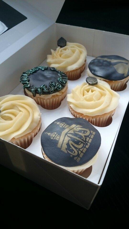 Umrah Mubarak cupcakes