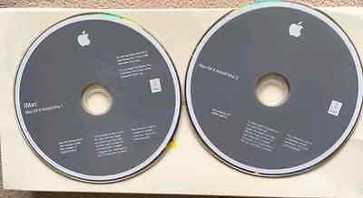 Apple iMac Mac OS X Tiger Install Disc 1 & 2 v10.4.4