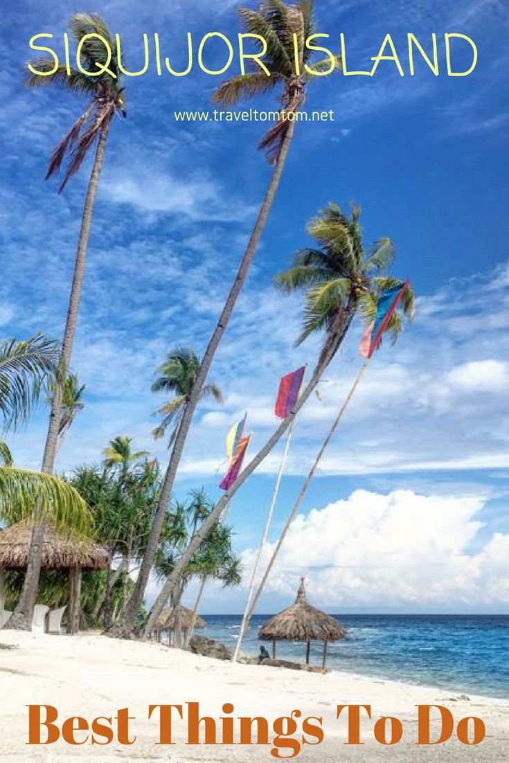 This is your Siquijor Travel Guide with info about witchcraft, waterslides, cliff jumps and other cool things to do in siquijor. #siquijor #travelguide #Asia #Philippines #island  #beach #sun #vacation #travel #trip #traveltomtom