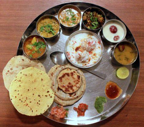 Just nashik food review: Gujrathi Thali in Hotel Samrat http://justnashik.com/2013/08/04/justnashik-food-reviewgujrathi-thali-at-hotel-samrat/