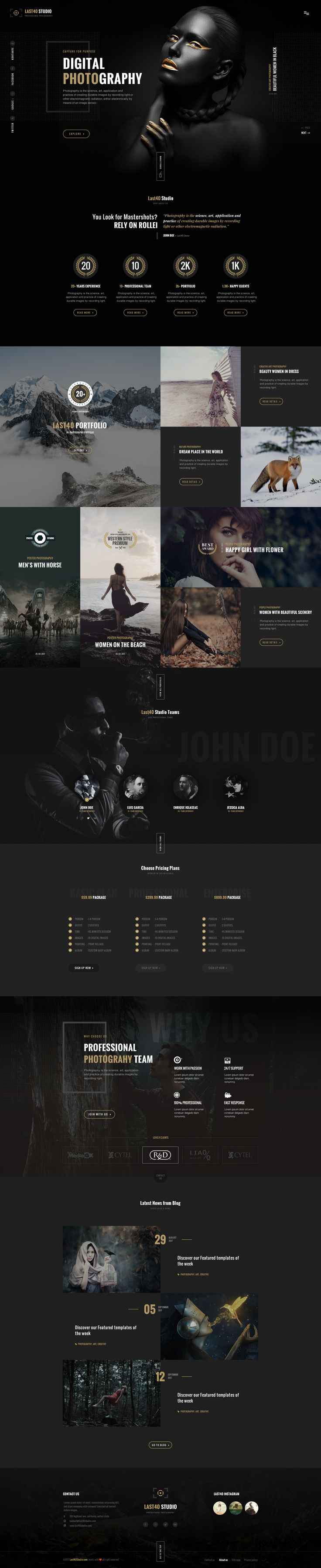 LAST40 Studio on Behance