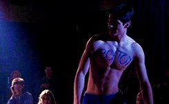 one tree hill nathan scott shirtless boy toy auction gif