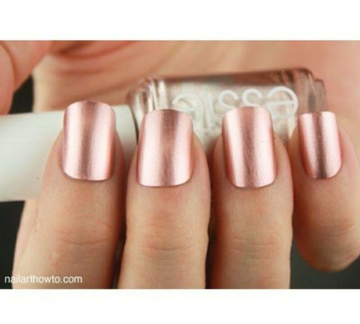 Very Me Metallic Nail Polish Shades: 1000+ Ideas About Rose Gold Nail Polish On Pinterest
