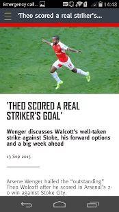 Arsenal- screenshot thumbnail